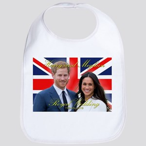 HRH Prince Harry and Meghan Markle Baby Bib